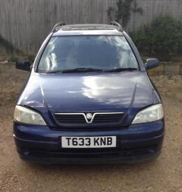 "Cheap car Vauxhall Astra 1.7 TD Estate 1999 ""T"" Reg Mot Spares Or Repair"