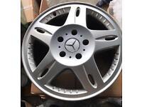Genuine mercedes benz G class klass wagon 18'' 7.5 et 43 130 alloys wheels
