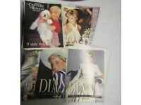 Collection Vintage 10 Magazines with Princess Diana and British Royal Family