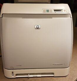HP Color LaserJet 2605DN Desktop Network Laser Printer - 5 Sealed Toner Cartridges