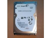 Seagate Freeplay ST1000LM010 2.5 inch 1TB SATA Hard Drive HDD Condition: Excellent NO ERRORS
