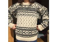 Wool Jumper - Made in Nepal - Chunky