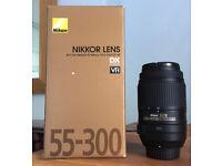 Nikon Nikkor 55-300mm Camera Lens