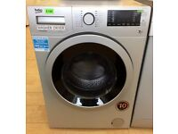 Beko SILVER & BLACK , 7/5kg , 1400 WASHER DRYER (RRP £399)+ 3 Months Guarantee + FREE LOCAL DELIVERY