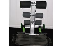 TOTAL CORE ABDOMINAL WORKOUT MACHINE IN GOOD USED CONDITION, ONLY £20 CAN DELIVER