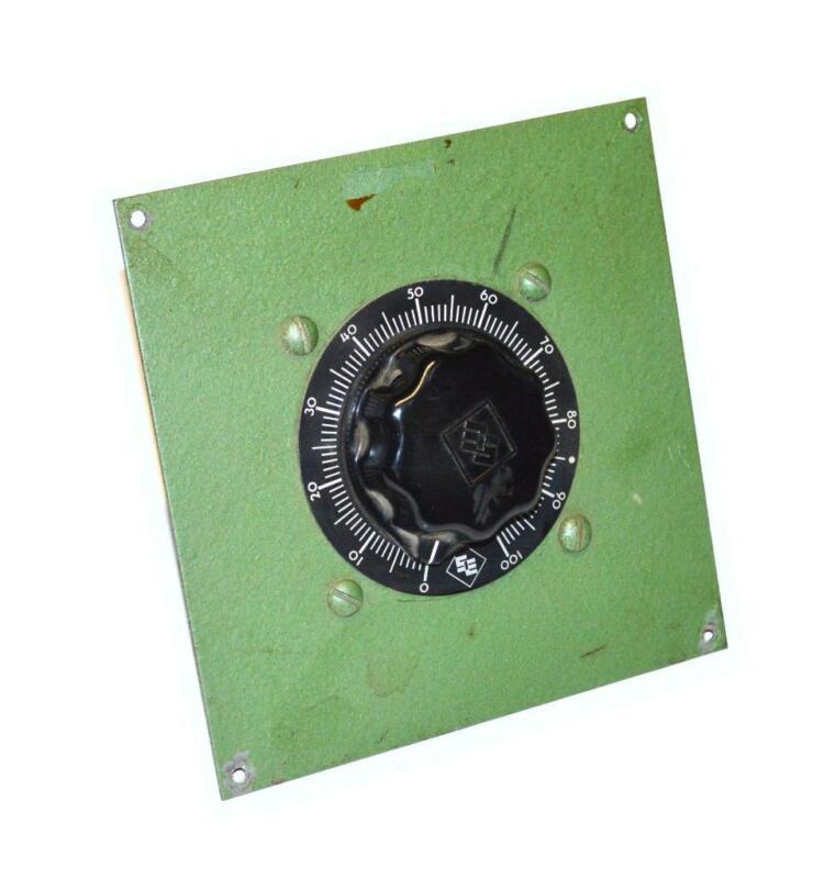 POWERSTAT TYPE 22 VARIABLE AUTOTRANSFORMER 0-280 VAC 0.63 KVA @ 2.25 AMPS