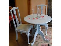NEW SALE PRICE - Gorgeous Dining/Breakfast Table Table & Two Chairs