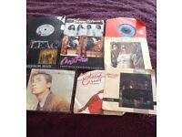 Various 7 inch Vinyl records from the 80s