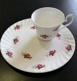 Plate and cup set.