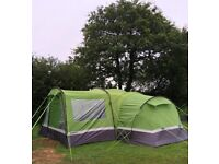 Trailer and Tent with camping equipment