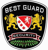Needing Secuirty Guards for Vaughan, Ontario