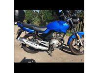 2015 Lexmoto ZSF 125cc, excellent condition.