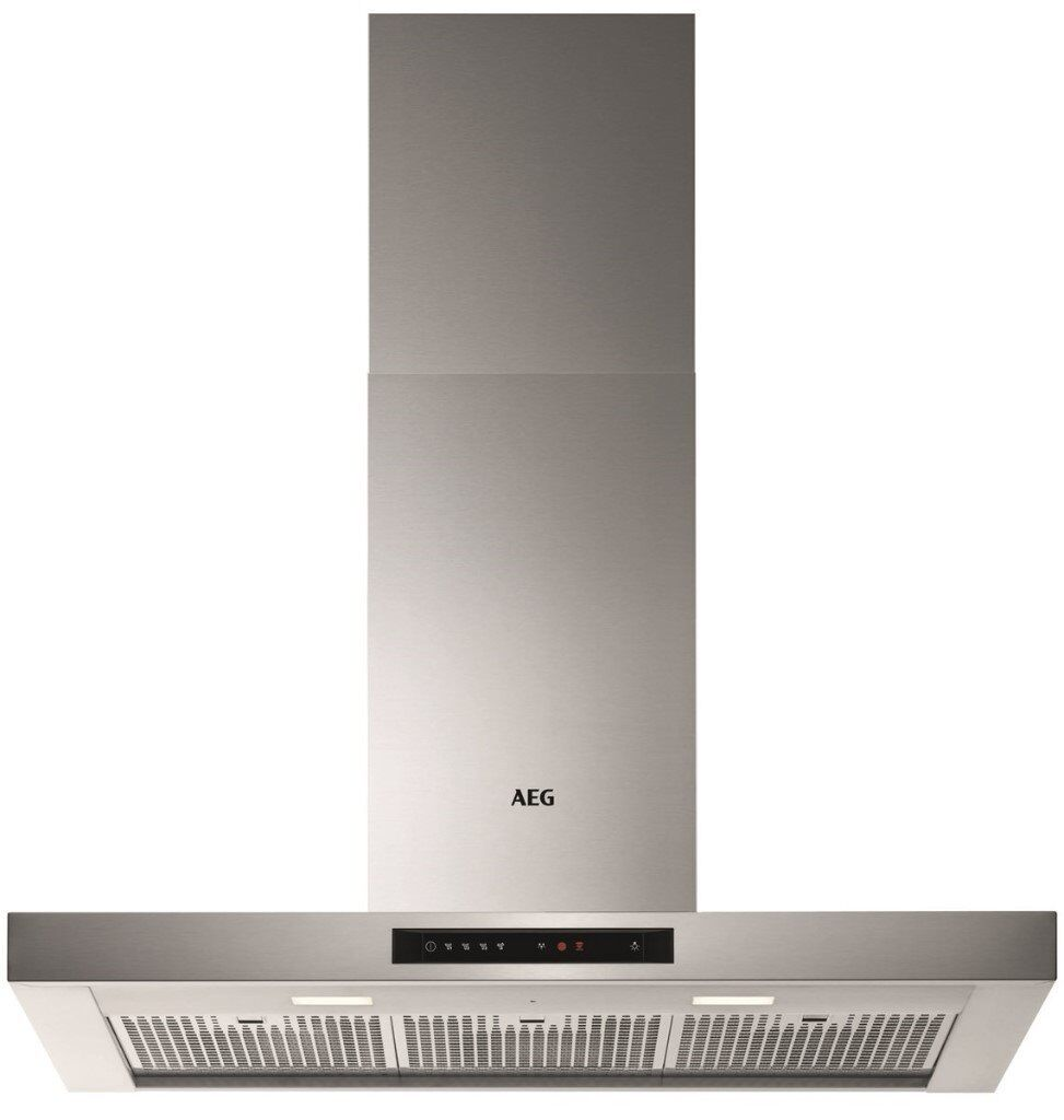 NEW - AEG Electrolux DBE6980HM 90cm Touch Cooker Hood Stainless Steel -BARGAIN PRICE £275 ONLY!