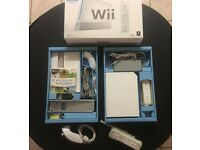 Nintendo Wii Console with lots of extras