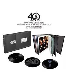 Star Wars vinyl - ltd box set of a new hope - collectors edition record