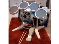 Nintendo Wii Rock Band drum kit for sale.
