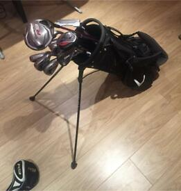 TaylorMade R7/R9 Golf Clubs and Bag