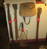 Vintage 1950's Fishing Gear
