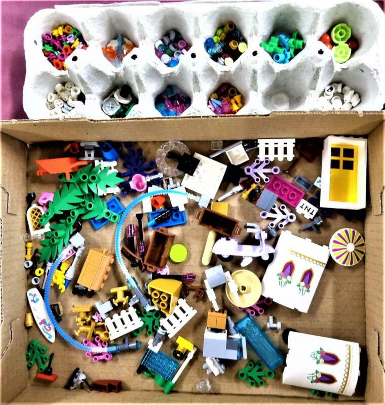 Lego Lot Miscellaneous Pieces From All Different Sets