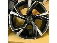 "19"" 5x112 AUDI A1 S1 A2 A3 S3 RS3 RS4 S5 S6 RS5 RS6 RS7 style alloys wheels"
