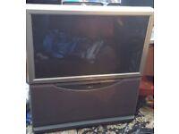 """2 Sony Rear Digital Projection TVs 41"""" & 51"""""""