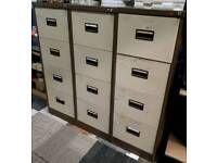 3 Drawer Steel Filing Cabinets