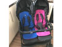 Joie twin stroller