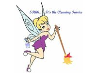 SHhh... It's the Cleaning Fairies. Instead of spreading fairy dust, we magic the dust away!