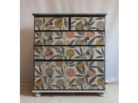Botanical Chest Of Drawers - Cottontail Collection