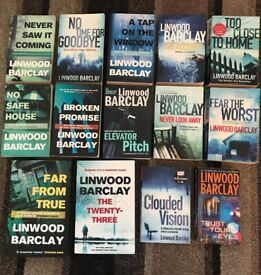LINWOOD BARCLAY BOOK COLLECTION - CRIME ~ HUMOUR ~ SUSPENSE