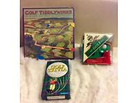 All new House if Marbles Golf, Golf Trivia, Golf Tiddlywinks