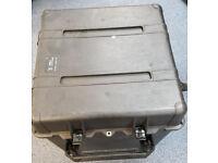 Two Peli 0370 cube cases - black