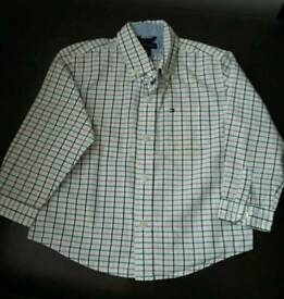 Tommy Hillfiger boys long sleeved shirt