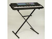 Yamaha PSR-185 Keyboard and stand