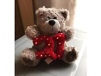 Teddy - Happy 21st Birthday Teddy Bear used but in Good Condition