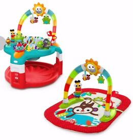 Mothercare Jumperoo baby activity centre 2in1 with playmat