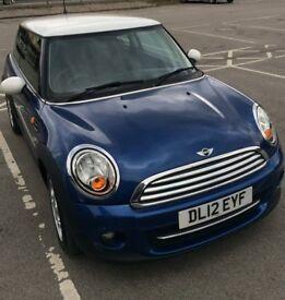 MINI COOPER 1.6 blue petrol great condition 2012