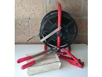 12mm Strapping Kit including Strapping dispenser, good condition, everything to get going