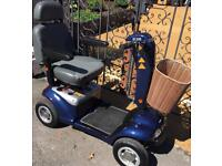 Immaculate sterling emerald 6mph mobility scooter 21 stone capacity can deliver for fuel