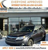 2010 Subaru Forester 2.5 X LIMITED PCKGE /HEATED SEATS/SUNROOF