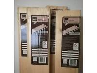 4 packs of natural T & GV cladding