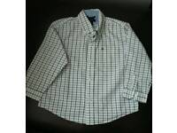 Tommy Hillfiger boys long sleeved shirt age 24 months