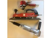 Air tools for sale, Polisher, D.A, And Sander.