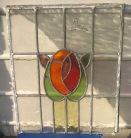 A435 Stained glass window