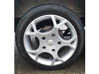 Transit Sport MS Design Alloy Wheels & Tyres