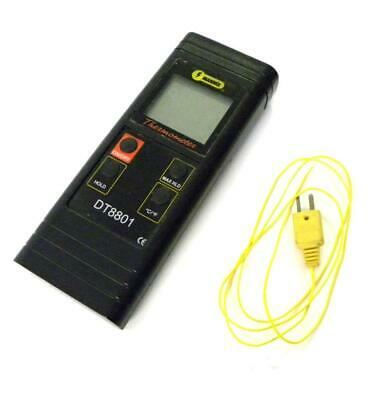 Mannix Dt8801 Thermometer With Thermocouple And Case