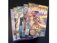 Grab bag of 5 collectible comic books. (Assorted Marvel)