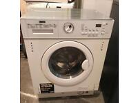 7KG ZANUSSI ZWT71201WA DIGITAL INTEGRATOR WASHER & DRYER 3 MONTH WARRANTY, FREE INSTALLATION
