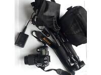Nikon D50 Digital SLR (DSLR) Camera, Lense and Accessories bundle