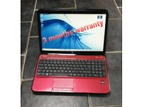HP Pavilion g6 laptop * microsoft office 2019 * ssd * 8gb ram * trade in welcome * can post *